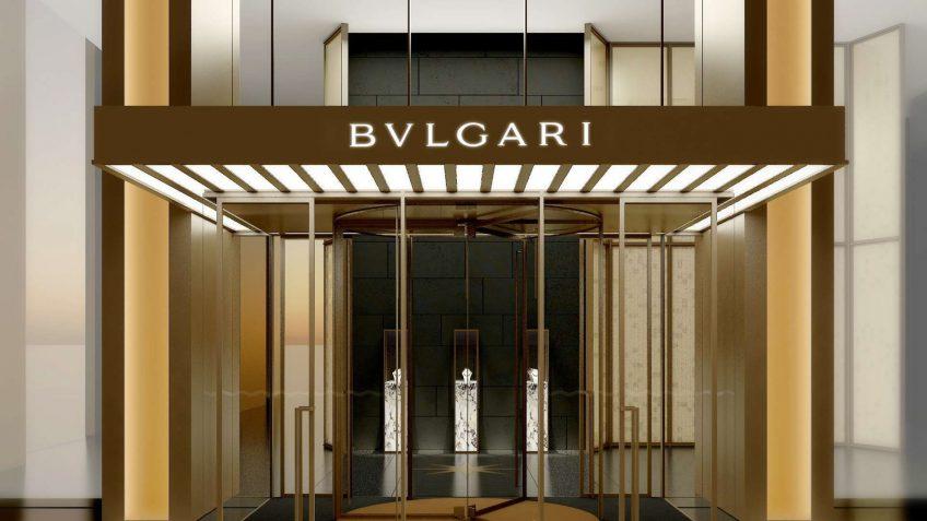 Bvlgari Luxury Hotel Shanghai - Shanghai, China - Bvlgari Entrance