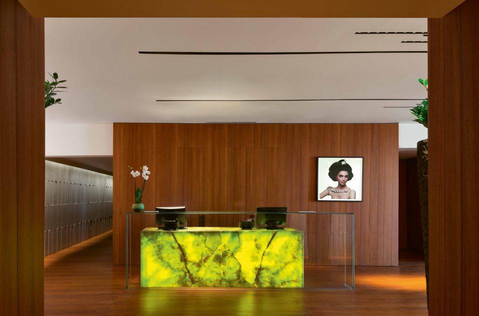 Bvlgari Luxury Resort Dubai - Jumeira Bay Island, Dubai, UAE - Bvlgari Spa Reception