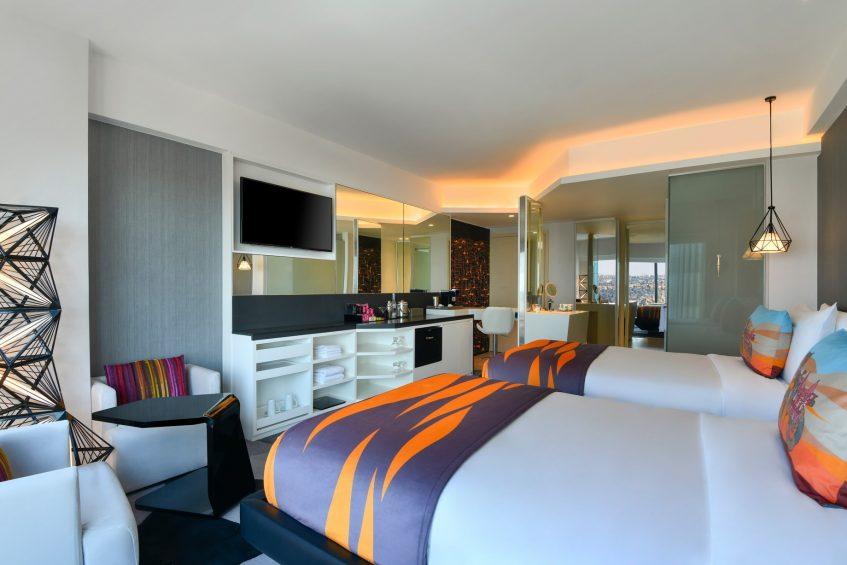 W Amman Luxury Hotel - Amman, Jordan - Spectacular Guest Room