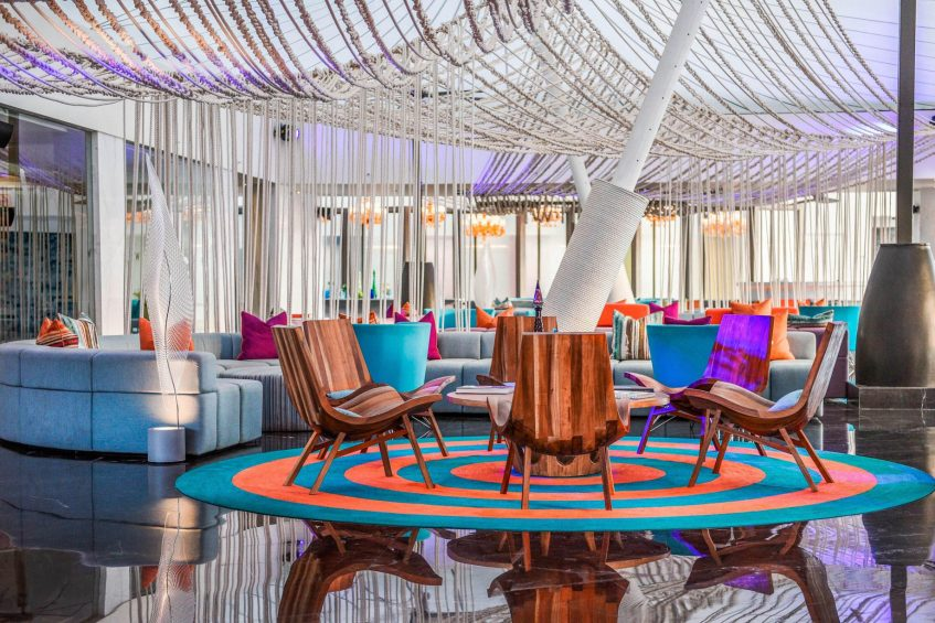 W Goa Vagator Beach Luxury Resort - Goa, India - Living Room Seating