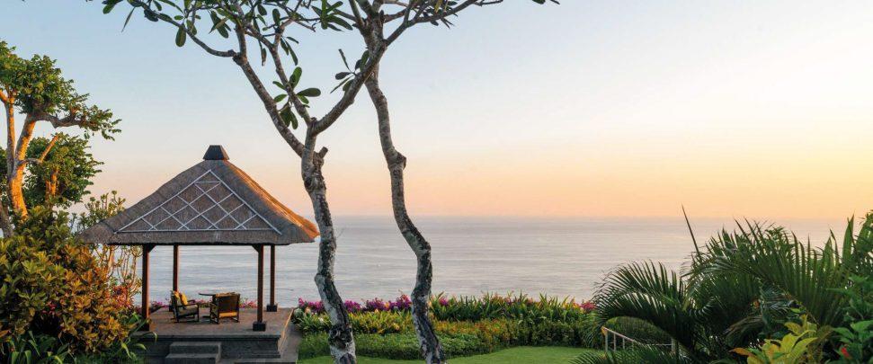 Bvlgari Luxury Resort Bali - Uluwatu, Bali, Indonesia - The Bvlgari Villa Garden Deck Ocean View Twilight