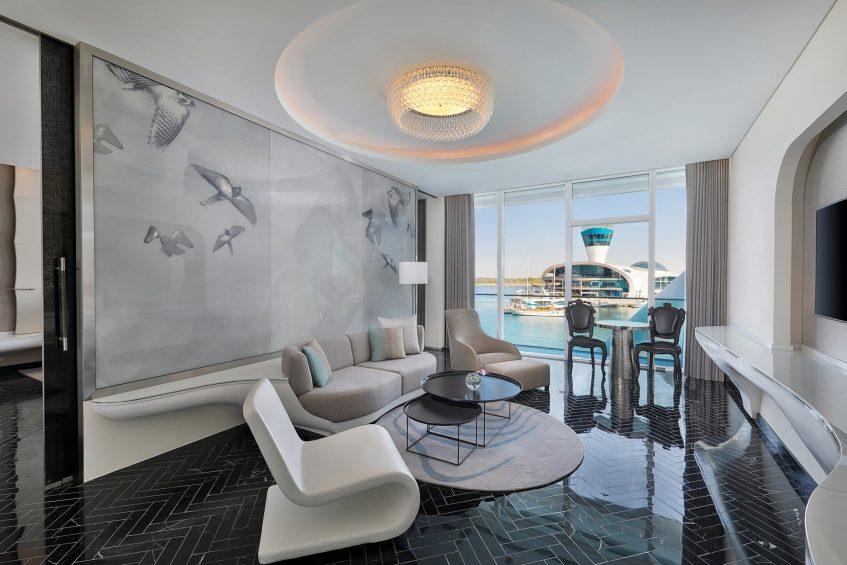W Abu Dhabi Yas Island Luxury Hotel - Abu Dhabi, UAE - Fantastic Suite Living Room