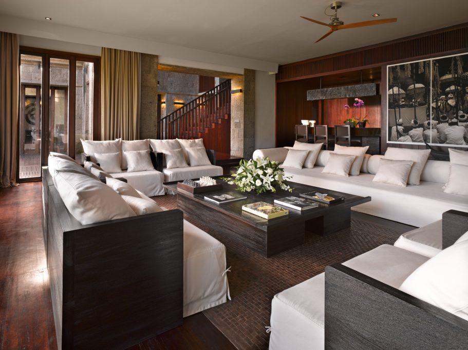 Bvlgari Luxury Resort Bali - Uluwatu, Bali, Indonesia - The Bvlgari Villa Living Room