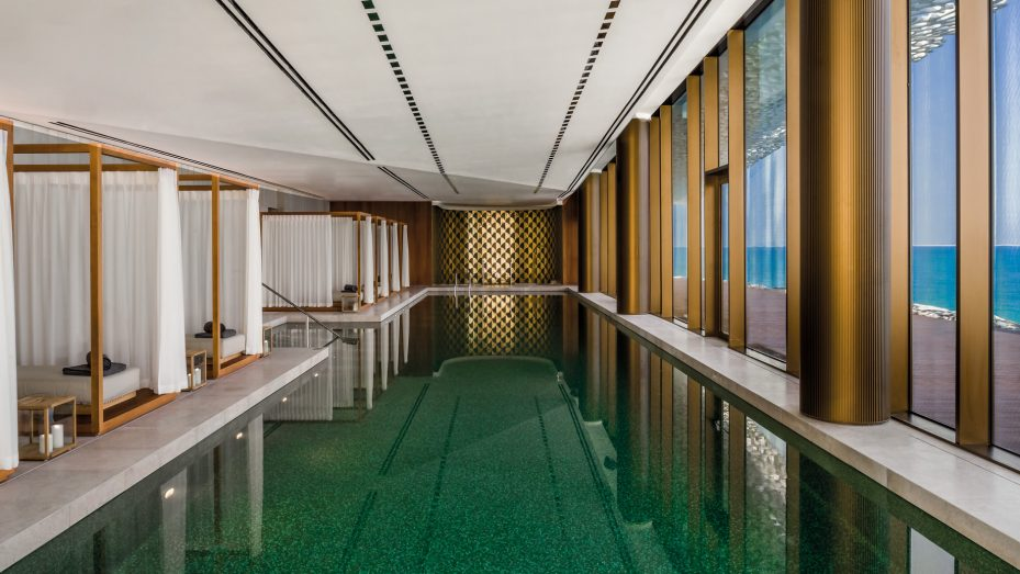 Bvlgari Luxury Resort Dubai - Jumeira Bay Island, Dubai, UAE - Bvlgari Spa Pool