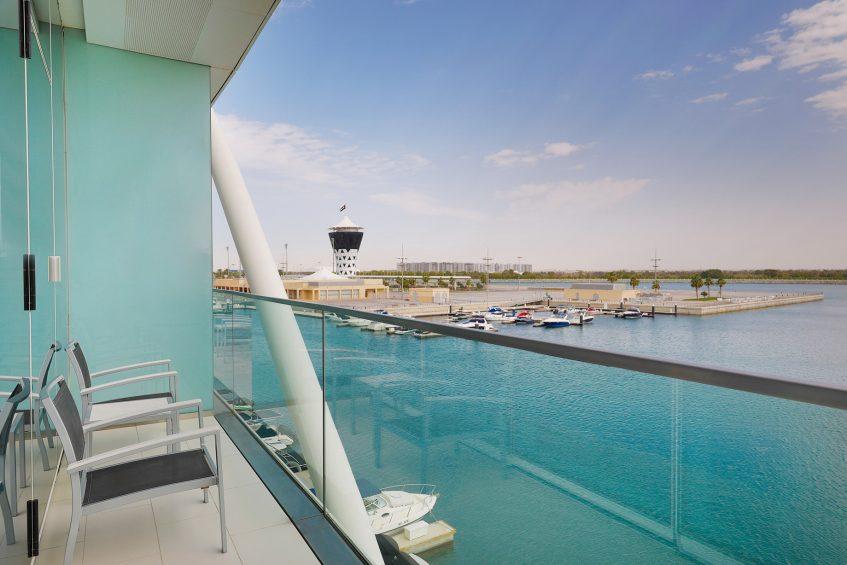 W Abu Dhabi Yas Island Luxury Hotel - Abu Dhabi, UAE - Marvelous Guest Room Balcony