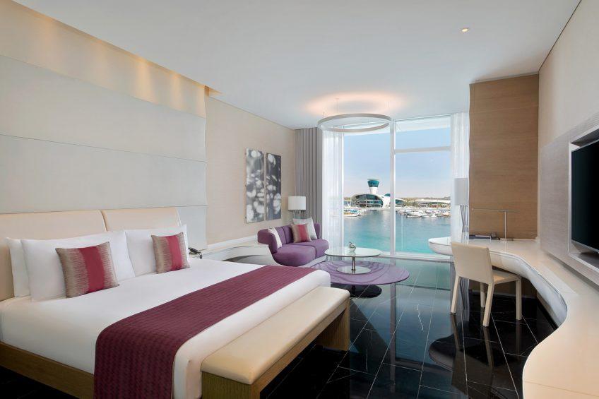 W Abu Dhabi Yas Island Luxury Hotel - Abu Dhabi, UAE - Marvelous Guest Room King