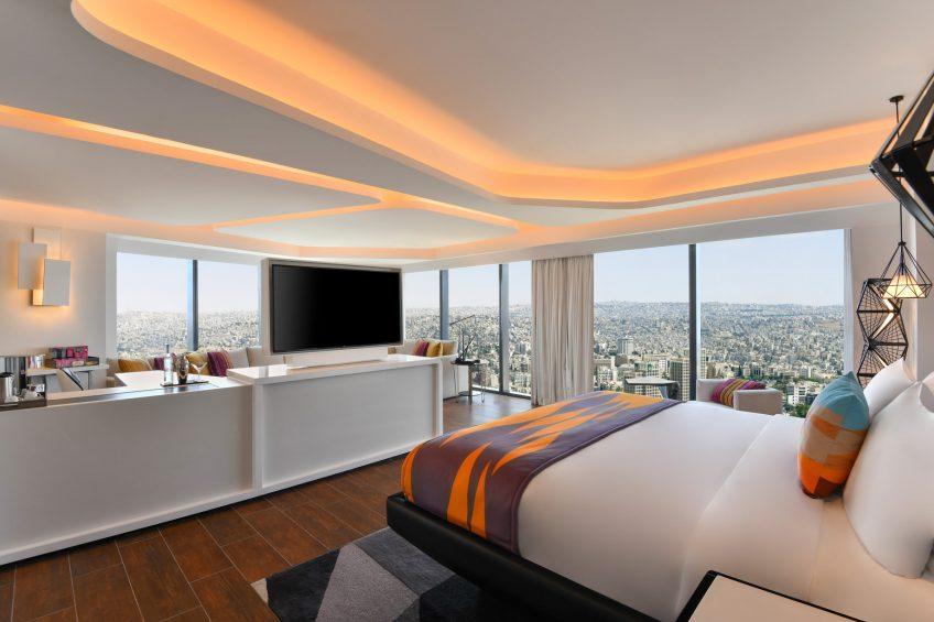 W Amman Luxury Hotel - Amman, Jordan - W Suite King