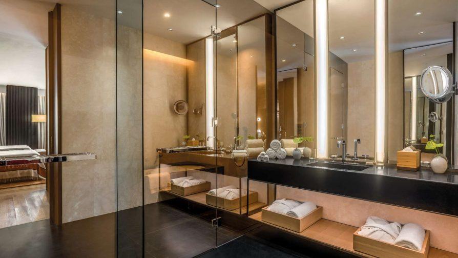 Bvlgari Luxury Hotel Beijing - Beijing, China - Guest Suite Bathroom