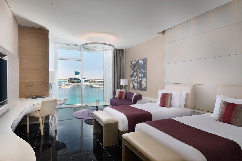W Abu Dhabi Yas Island Luxury Hotel - Abu Dhabi, UAE - Marvelous Guest Room Twin