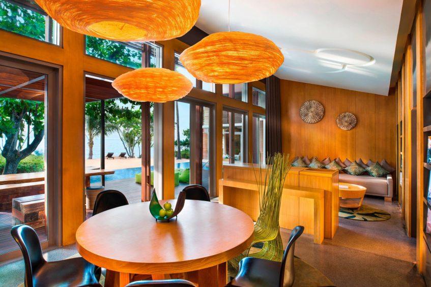 W Koh Samui Luxury Resort - Thailand - WOW Ocean Haven Villa Living Room