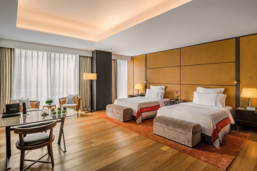 Bvlgari Luxury Hotel Beijing - Beijing, China - Guest Suite Double Bedroom
