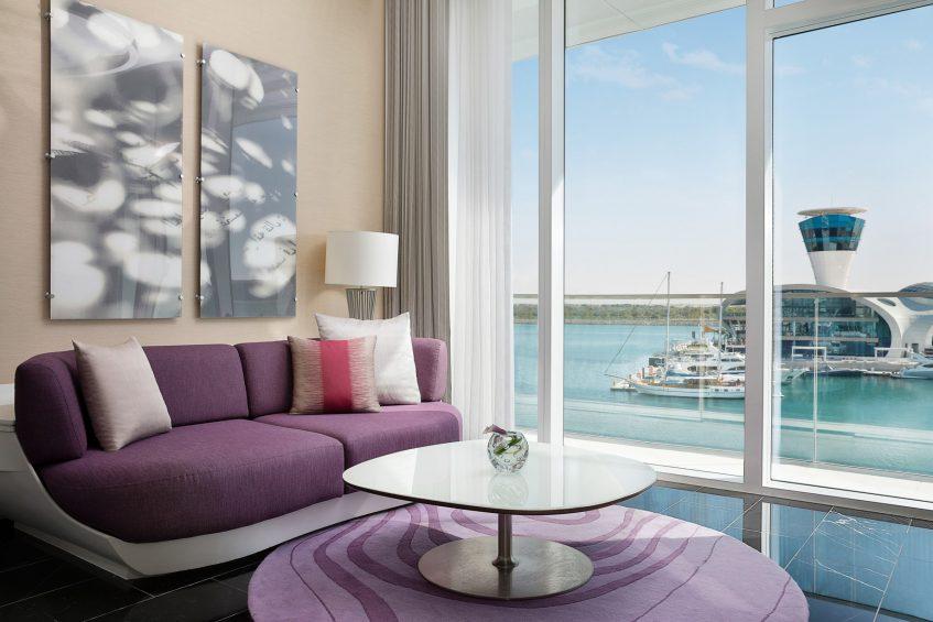 W Abu Dhabi Yas Island Luxury Hotel - Abu Dhabi, UAE - Marvelous Guest Room