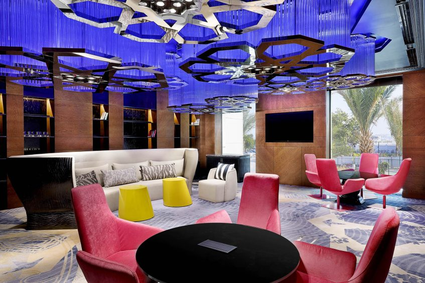 W Muscat Luxury Resort - Muscat, Oman - Strategy Meeting Room