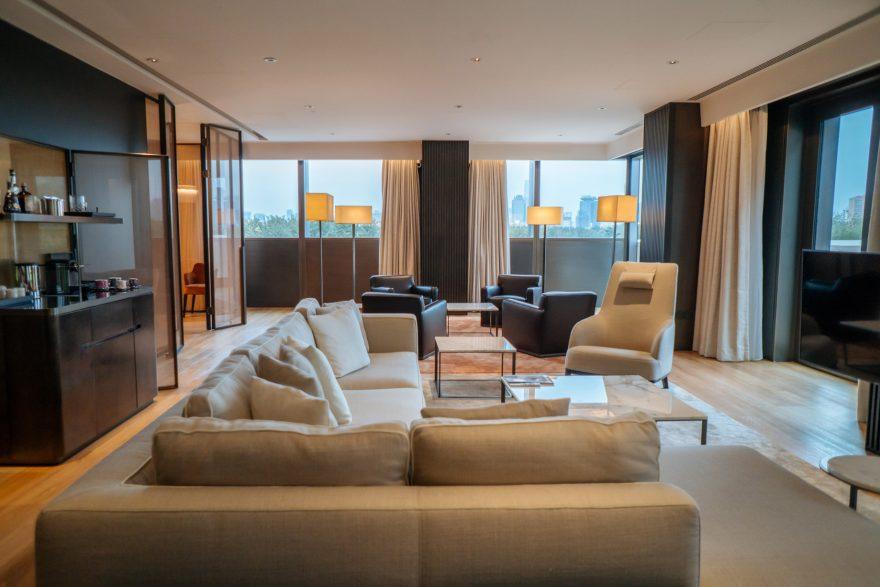 Bvlgari Luxury Hotel Beijing - Beijing, China - Guest Suite Living Room