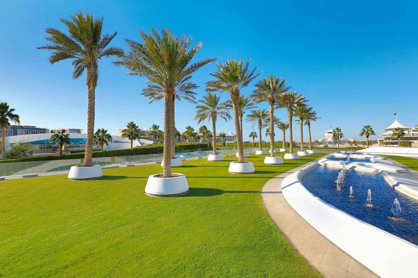W Abu Dhabi Yas Island Luxury Hotel - Abu Dhabi, UAE - Palm Garden Outdoor Venue