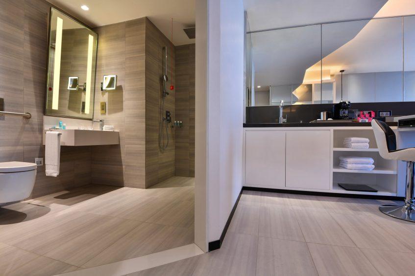 W Amman Luxury Hotel - Amman, Jordan - Wonderful Bathroom and Shower