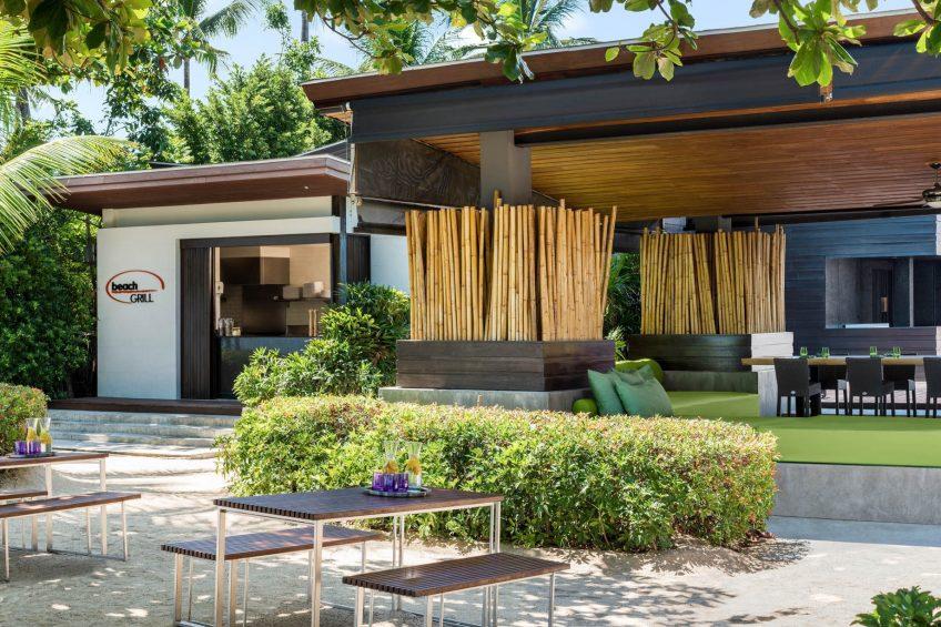 W Koh Samui Luxury Resort - Thailand - Beach Grill Restaurant