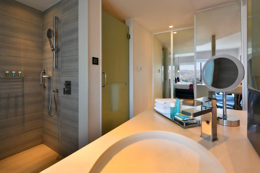 W Amman Luxury Hotel - Amman, Jordan - Wonderful Bathroom Vanity