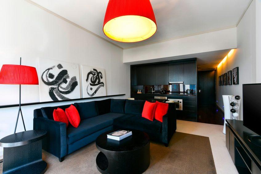 W Doha Luxury Hotel - Doha, Qatar - Warm Residences Living Room