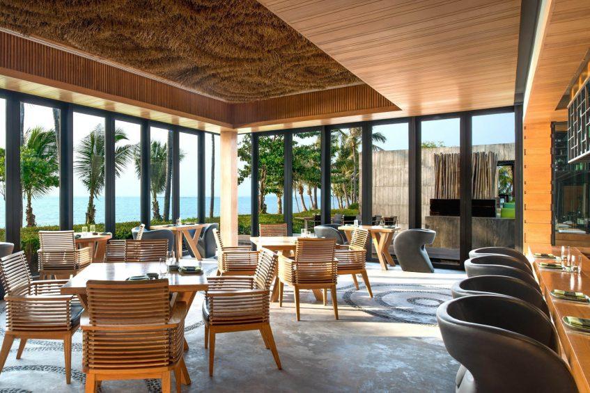 W Koh Samui Luxury Resort - Thailand- Namu Restaurant Interior