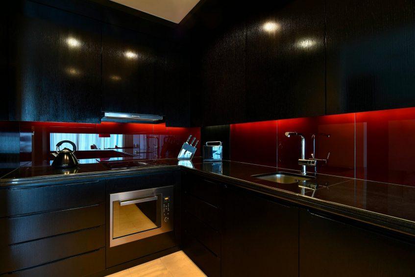 W Doha Luxury Hotel - Doha, Qatar - Witty Residence Kitchen
