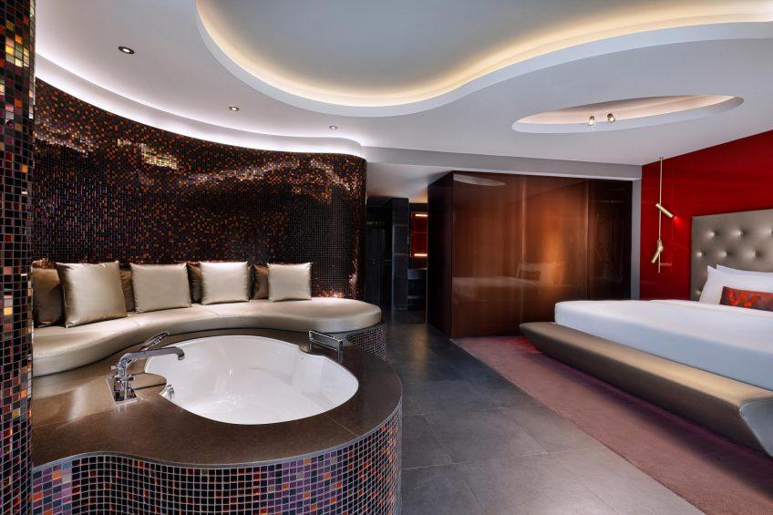 W Dubai The Palm Luxury Resort - Dubai, UAE - Marvelous Suite Bedroom