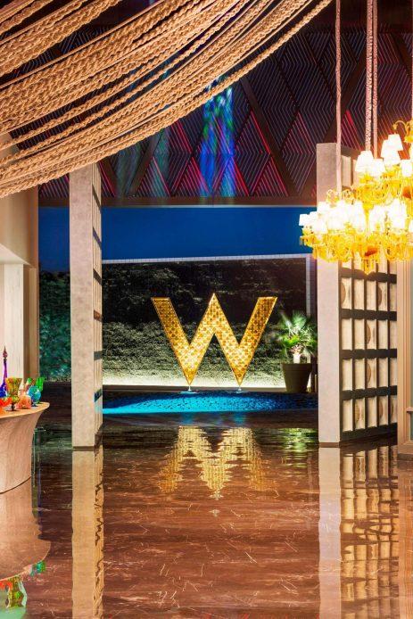 W Goa Vagator Beach Luxury Resort - Goa, India - W Hotel Lobby Entrance