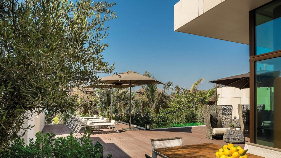 Bvlgari Luxury Resort Dubai - Jumeira Bay Island, Dubai, UAE - Exterior Deck