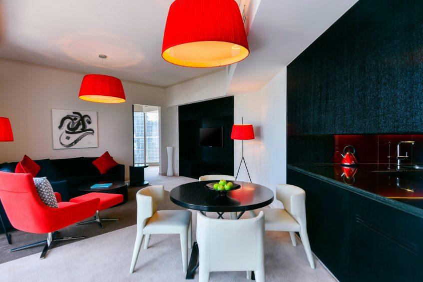 W Doha Luxury Hotel - Doha, Qatar - Witty Residence Living Room Seating