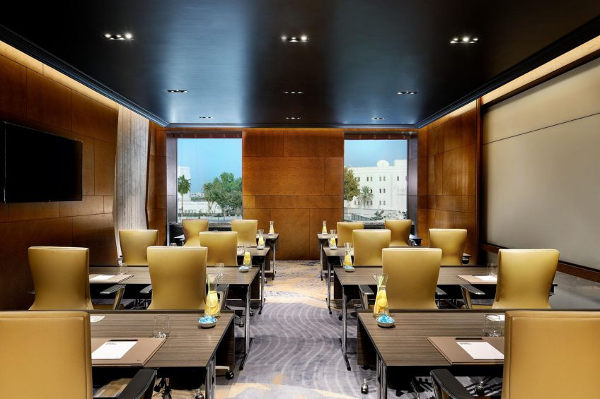 W Muscat Luxury Resort - Muscat, Oman - Meeting Room Classroom Setup