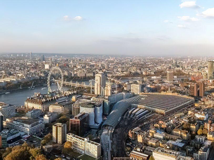 Bvlgari Luxury Hotel London - Knightsbridge, London, UK - London City Aerial View