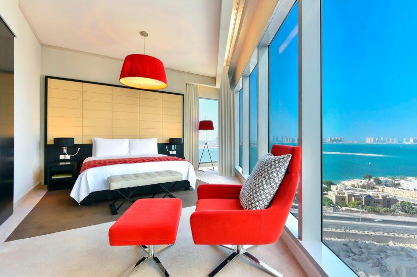 W Doha Luxury Hotel - Doha, Qatar - Witty Residence King Bed