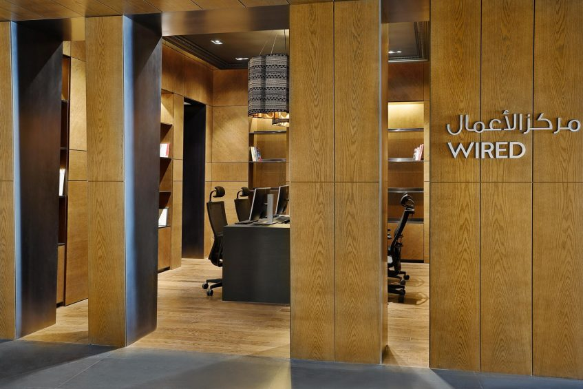 W Muscat Luxury Resort - Muscat, Oman - WIRED Business Center