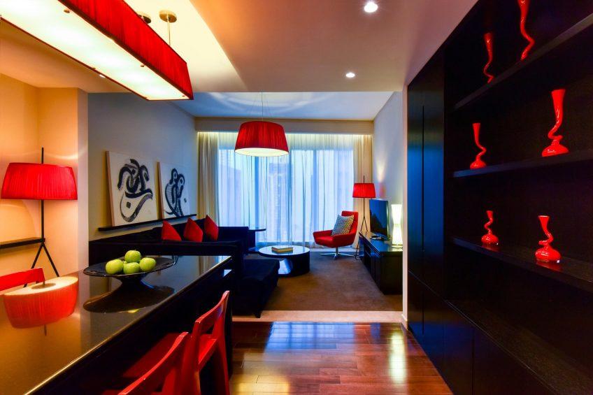 W Doha Luxury Hotel - Doha, Qatar - Wonderful Residence Living Room Decor