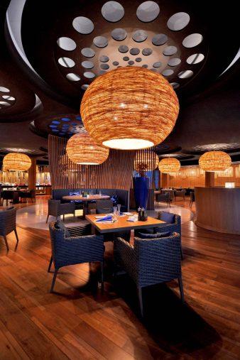 W Koh Samui Luxury Resort - Thailand - The Kitchen Table Restaurant at Night