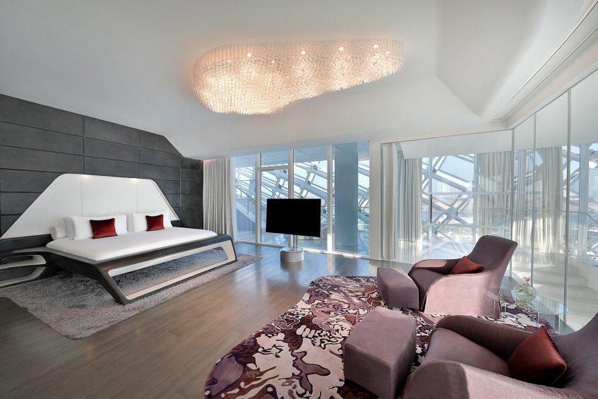 W Abu Dhabi Yas Island Luxury Hotel - Abu Dhabi, UAE - E WOW Suite King