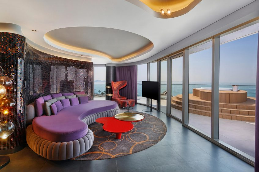 W Dubai The Palm Luxury Resort - Dubai, UAE - Marvelous Suite