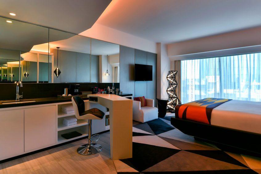 W Amman Luxury Hotel - Amman, Jordan - Wonderful Room King Bedroom