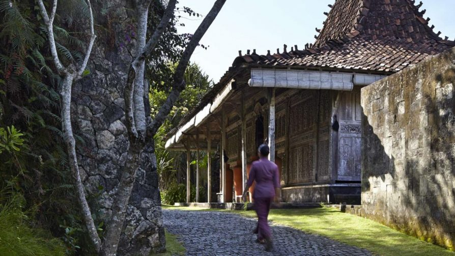 Bvlgari Luxury Resort Bali - Uluwatu, Bali, Indonesia - The Bvlgari Spa Entrance