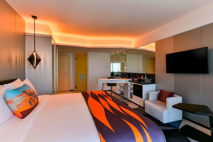 W Amman Luxury Hotel - Amman, Jordan - Wonderful Room King