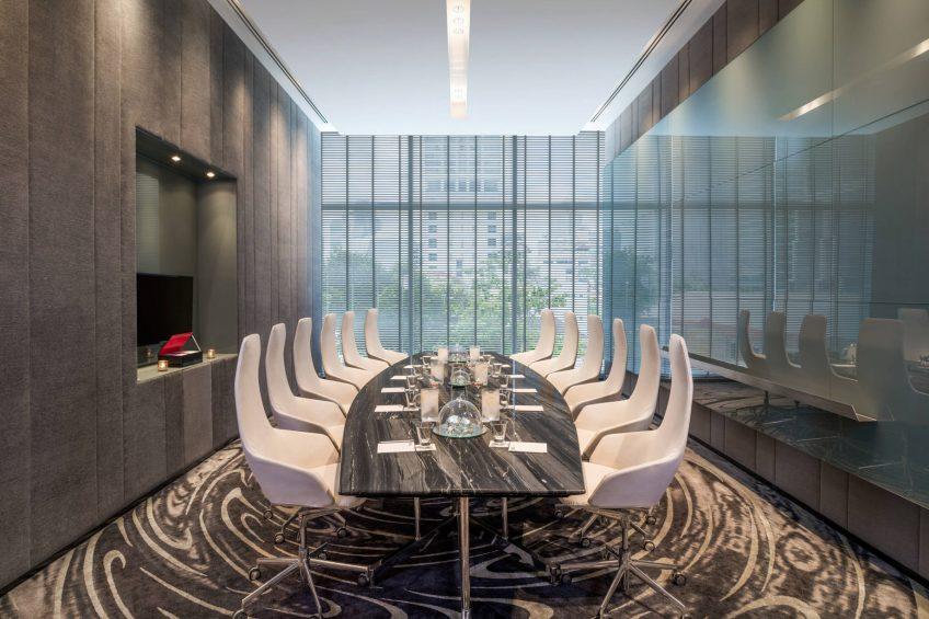 W Bangkok Luxury Hotel - Bangkok, Thailand - Strategy Room