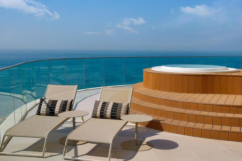W Dubai The Palm Luxury Resort - Dubai, UAE - Marvelous Jacuzzi Suite Terrace
