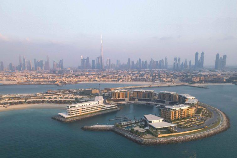 Bvlgari Luxury Resort Dubai - Jumeira Bay Island, Dubai, UAE - Resort Aerial City View