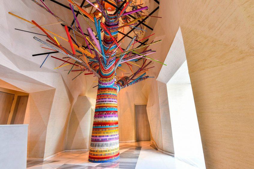 W Amman Luxury Hotel - Amman, Jordan - Tree of Life Art