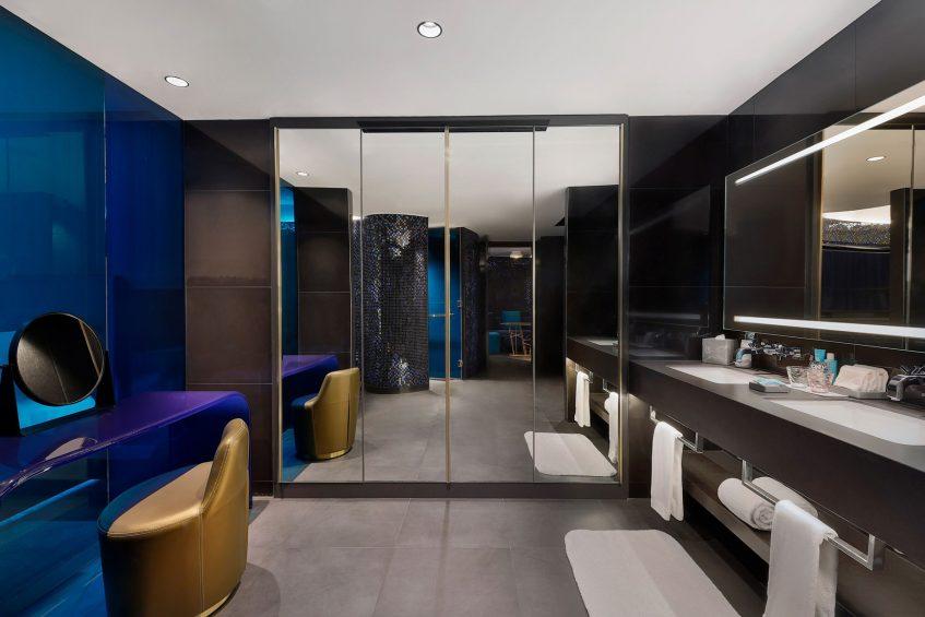 W Dubai The Palm Luxury Resort - Dubai, UAE - Mega Suite Single Room Bathroom