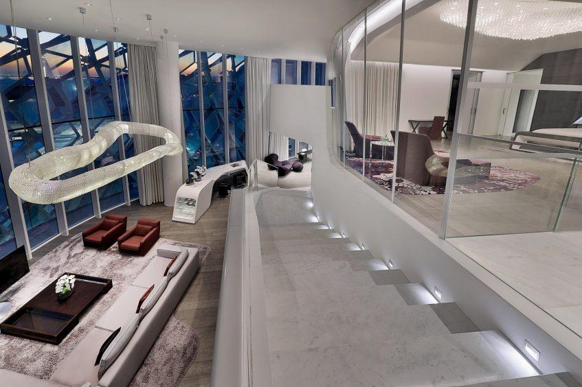 W Abu Dhabi Yas Island Luxury Hotel - Abu Dhabi, UAE - E WOW Suite Duplex