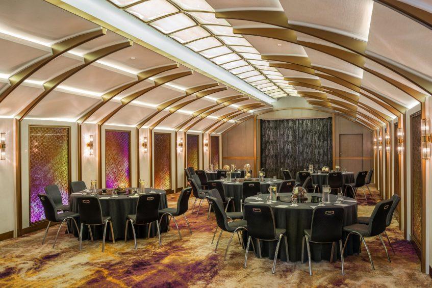 W Bangkok Luxury Hotel - Bangkok, Thailand - The Loft Banquet Setup