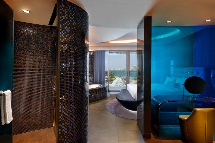 W Dubai The Palm Luxury Resort - Dubai, UAE - Mega Suite Single Room Rain Shower