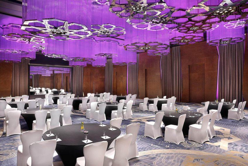 W Muscat Luxury Resort - Muscat, Oman - Great Room Banquet Setup