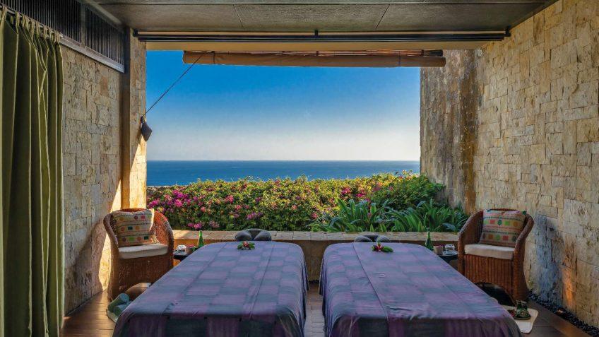 Bvlgari Luxury Resort Bali - Uluwatu, Bali, Indonesia - The Bvlgari Spa Ocean View Double Treatment Room